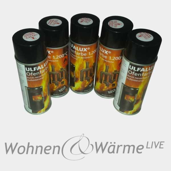 ofenlack ofenfarbe 1200 c ofenlack spray 400ml. Black Bedroom Furniture Sets. Home Design Ideas